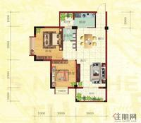 金鼎·国际花园1号楼C户型