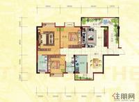 金鼎·国际花园2号楼A户型