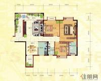 金鼎·国际花园2号楼B户型