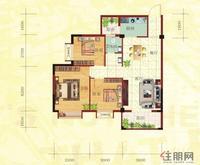 金鼎·国际花园2号楼C户型