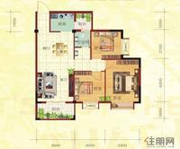 金鼎·国际花园2号楼D户型