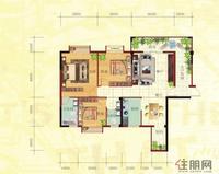 金鼎·国际花园3号楼A户型