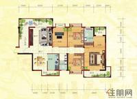 金鼎·国际花园3号楼B户型