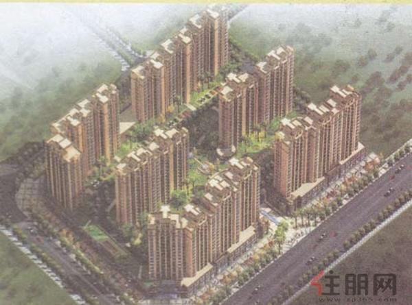桂星园鸟瞰图