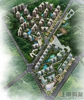 荣和山水绿城效果图|总体规划鸟瞰图(3.19)