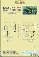 3号楼 复式 5房 户型单张