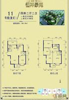 11号楼 复式 4房 户型单张