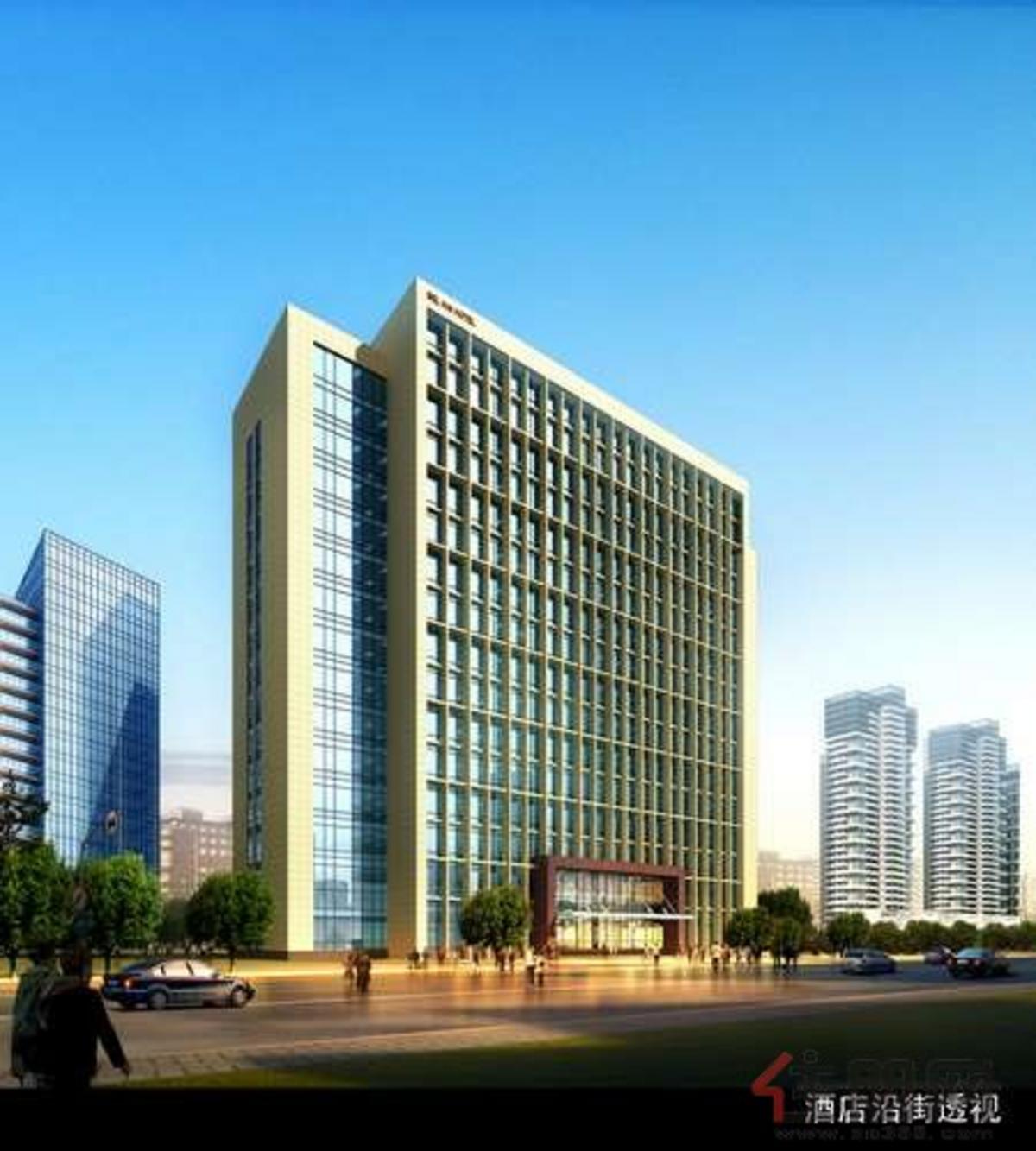 万泉城二区酒店效果图2011·10·21