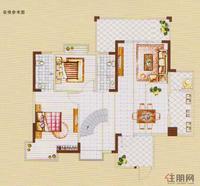 C3楼中楼户型-楼下装修参考图