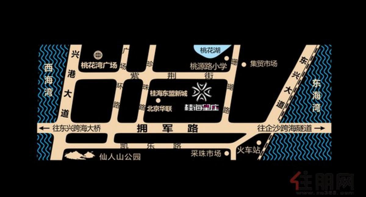 桂海星座区位图