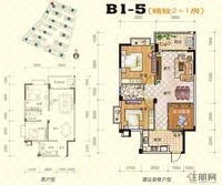 振宁现代鲁班振宁・现代鲁班B1-5户型3室2厅1卫82.00�O