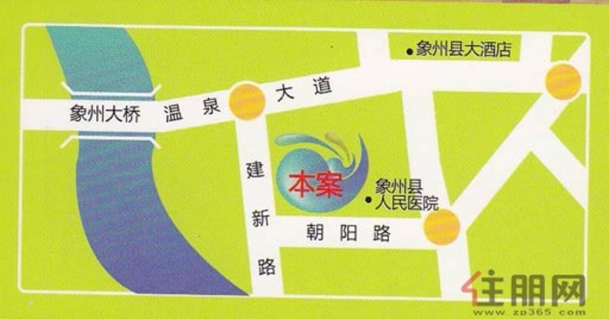 朝阳·时代商业港交通图