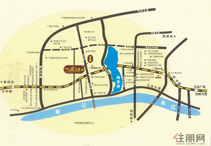 南宁新楼盘地图分享 溜溜网
