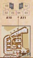 A10-4#A11-1#一至十层位置