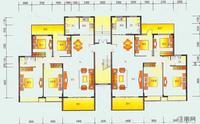 8栋一层平面图