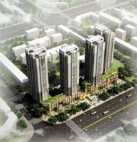 锦泰现代城效果图|项目鸟瞰图