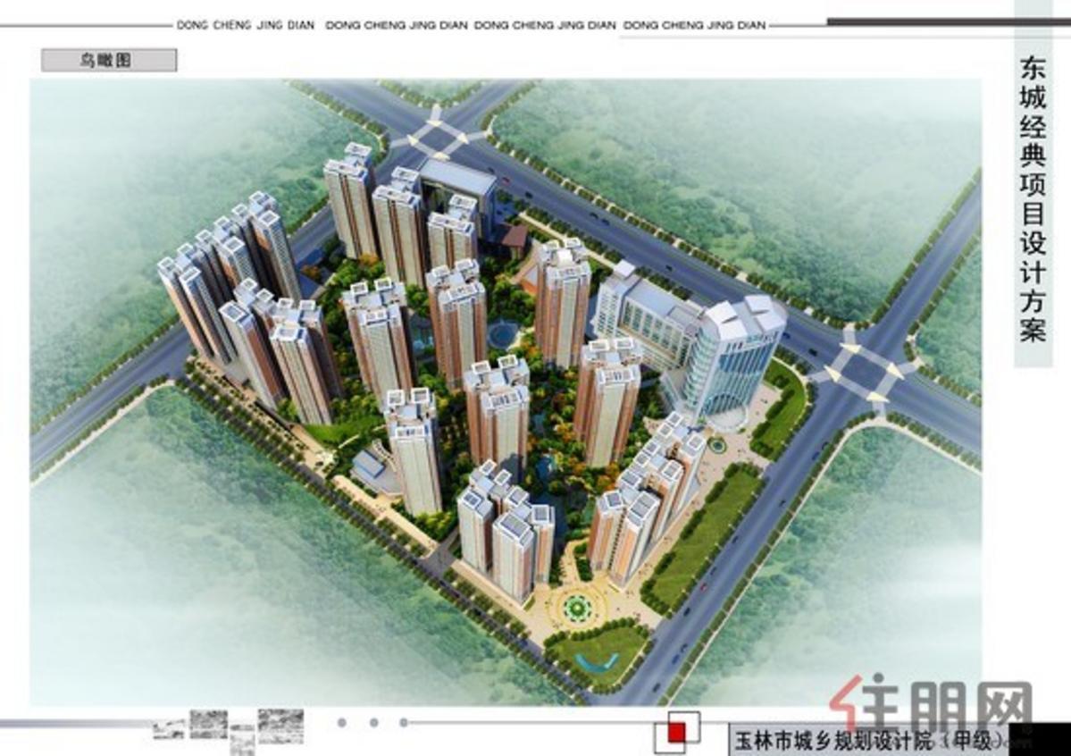 东城经典鸟瞰图
