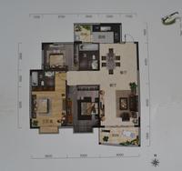 新世界国际旅游商贸城C/D户型3室2厅2卫122.10�O