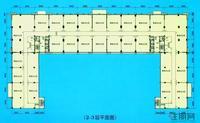 2-3层平面图