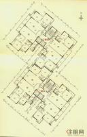 2号楼一、二单元标准层