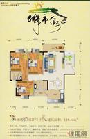 3-B1户型2房2厅2卫125.12㎡