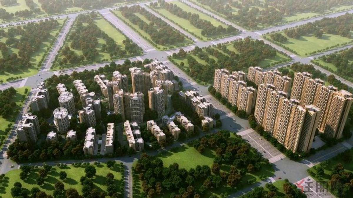 正元·七里香溪项目鸟瞰图
