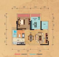 住宅3/4栋E户型