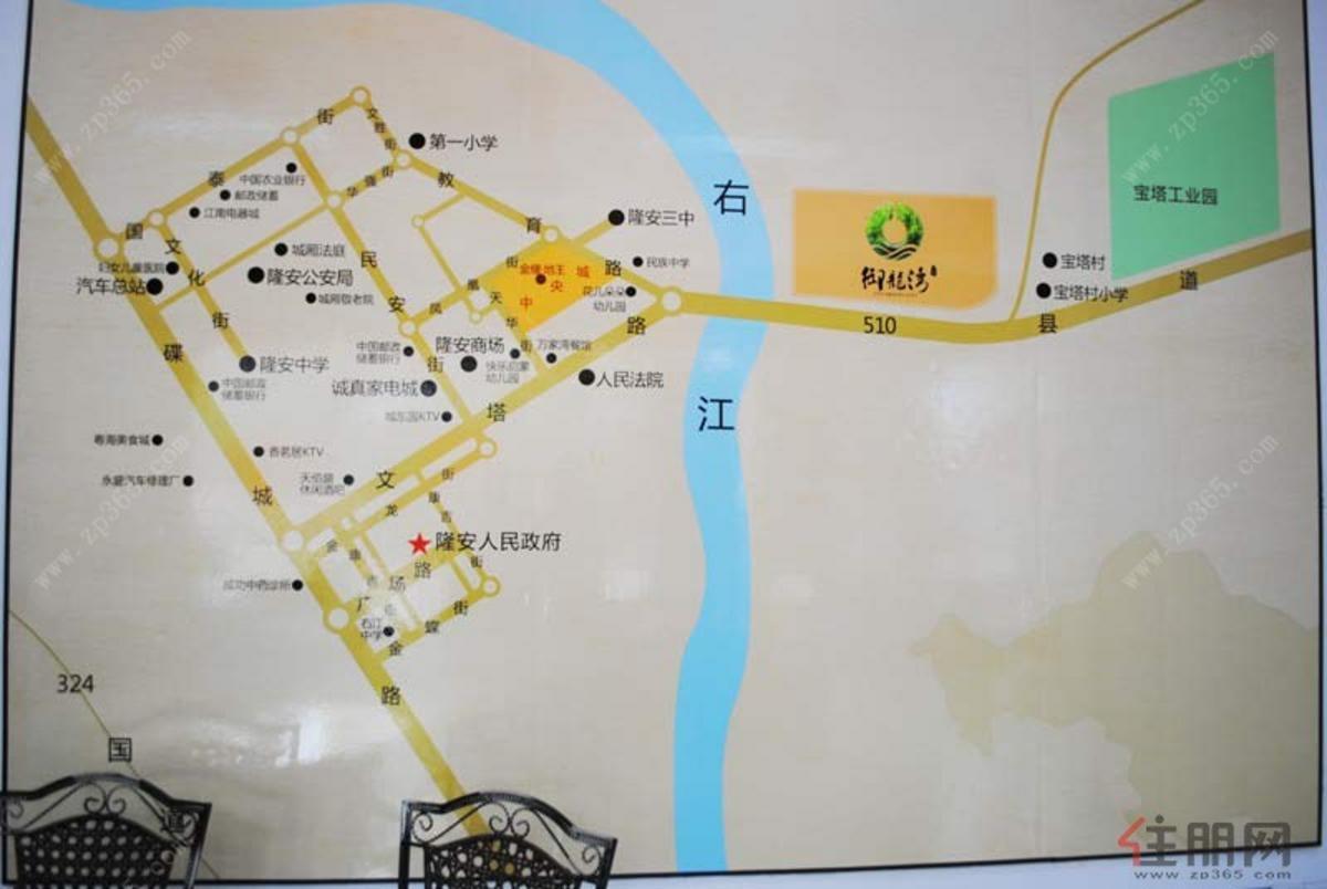 金耀·中央城区域图
