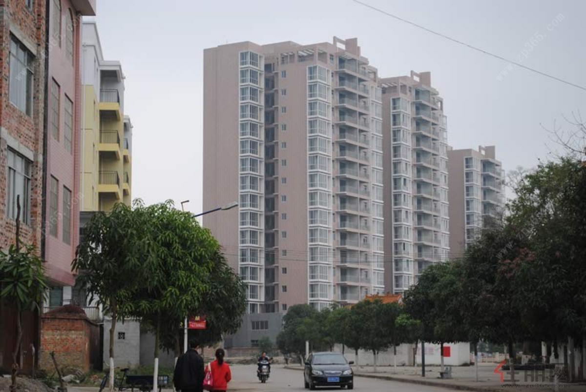 泰鑫·江滨住宅小区实景图