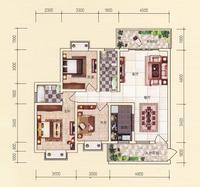 2#楼三房户型