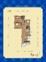 8号楼a1户型图