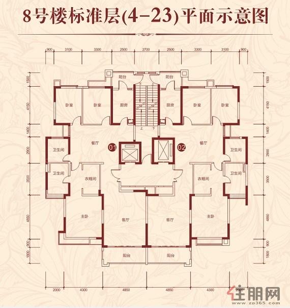 长阳桂林丽岛户型图