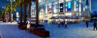 北部湾商业中心效果图|北部湾商业中心夜景图