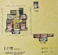 汇荣桂林桂林E户型3+1房2厅2卫