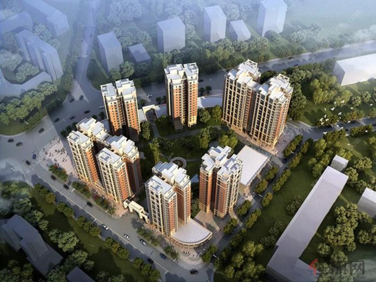中国铁建玫瑰湾鸟瞰图