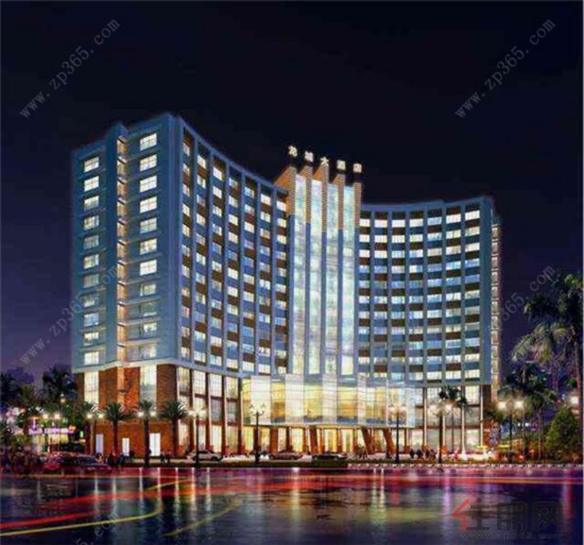 龙城国际酒店·公寓效果图