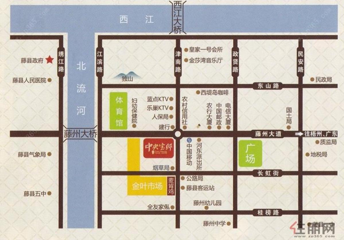 众成商厦区域图