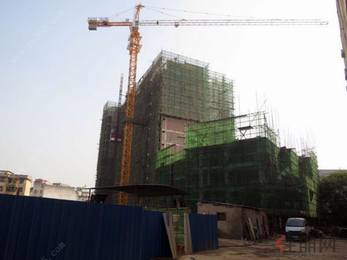 鑫翔·曼哈顿公馆2013.1.22工程进度图