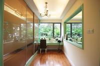 荣和山水绿城样板间图|四期57�O户型样板房之书房