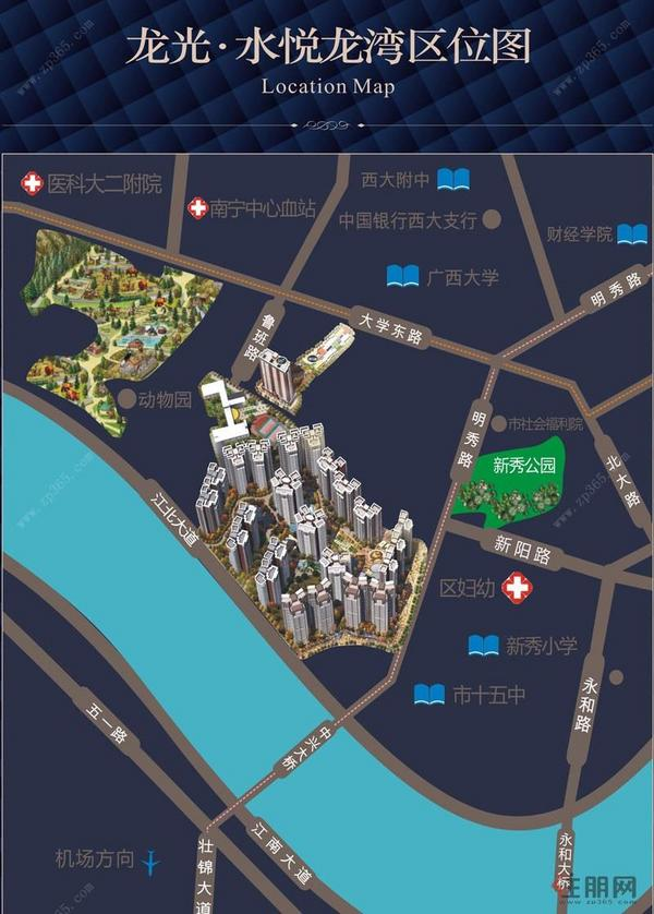 龙光·水悦龙湾区位图
