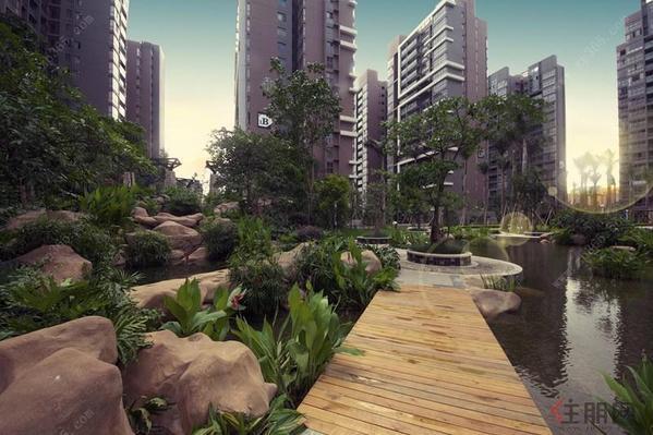 汇东星城小区实景图(7.31)