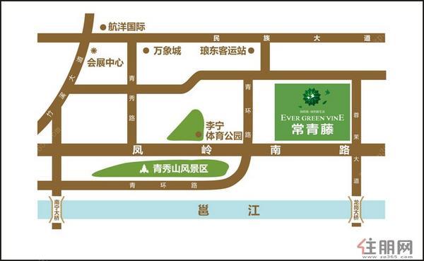 常青藤交通图(10.16)