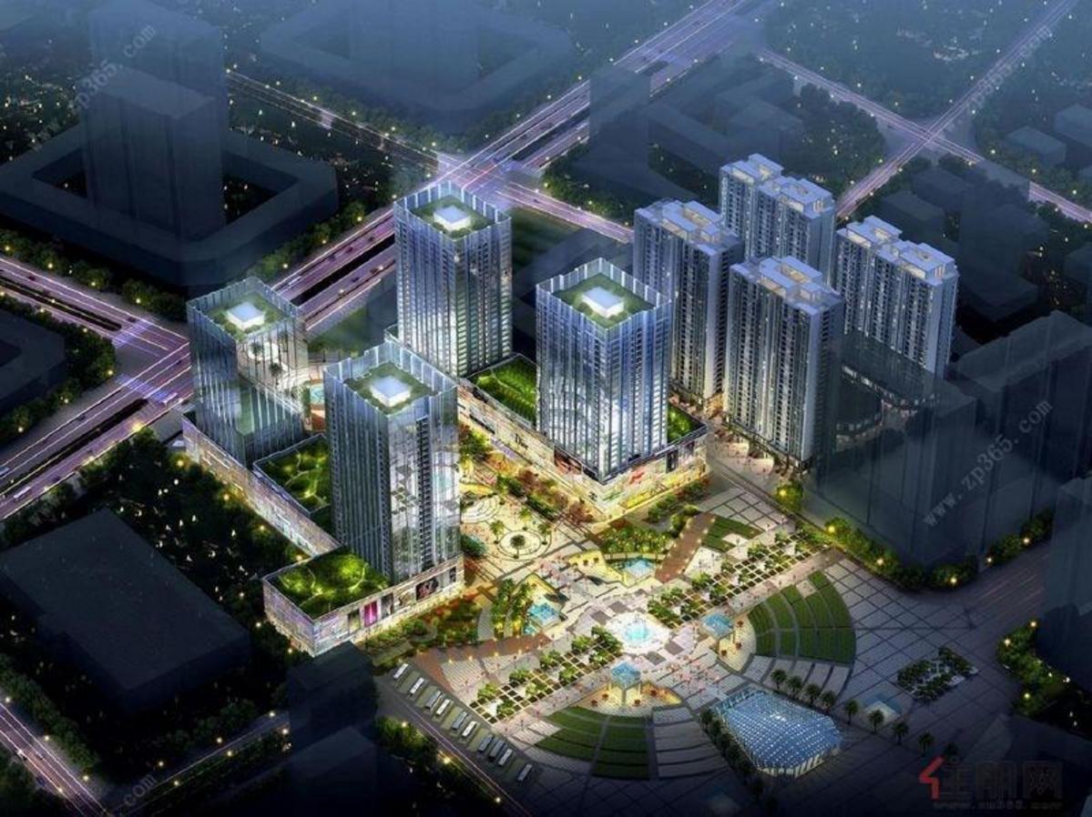 桂林恒大广场效果图