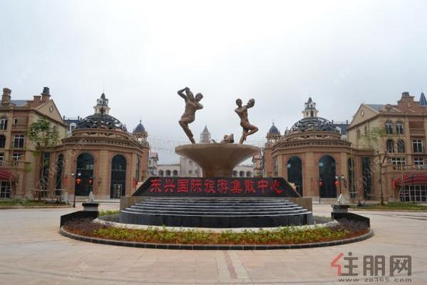 东兴国际旅游集散中心实景图