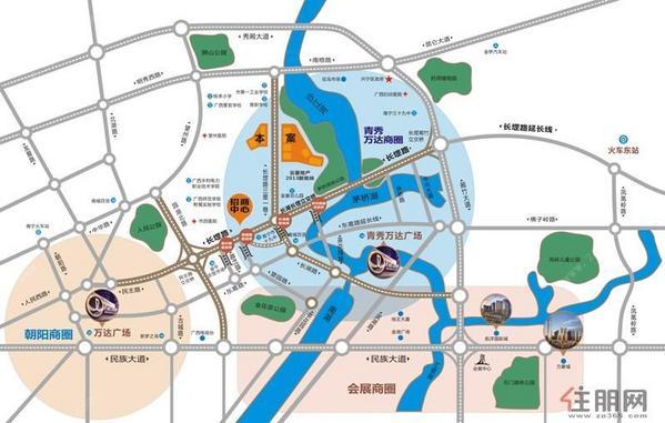钻石梦想园区域图