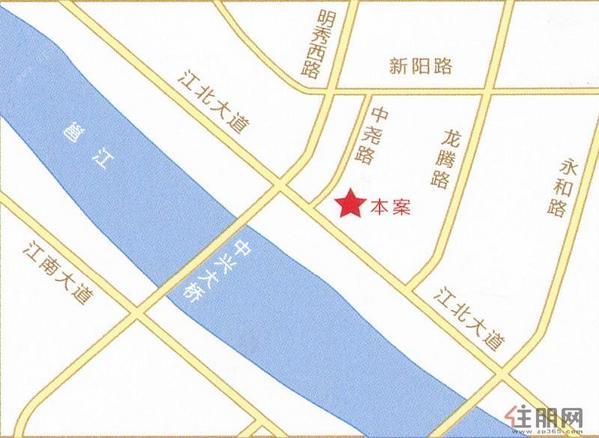 虹桥湾地图