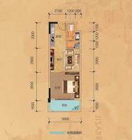 公寓2栋D户型