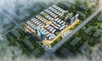 桂海东盟商贸中心效果图|总平图