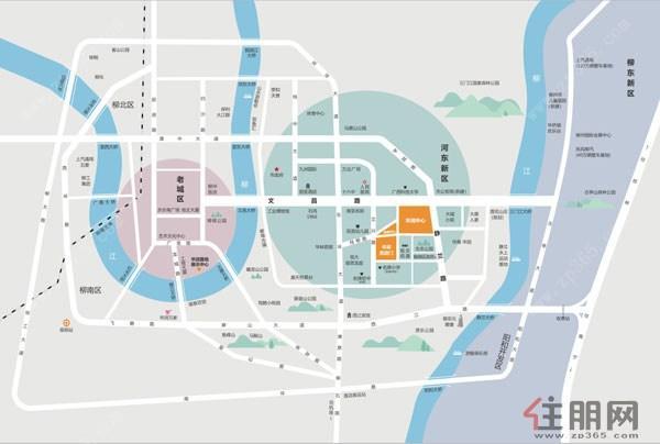 华润中心区位图