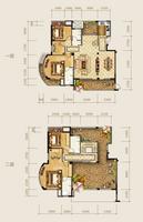 海华东盟公馆A2户型5室2厅4卫227.00�O